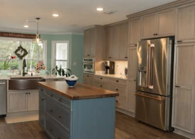 Lafayette Oaks Kitchen Expansion and Master Bath Remodel – $48,700
