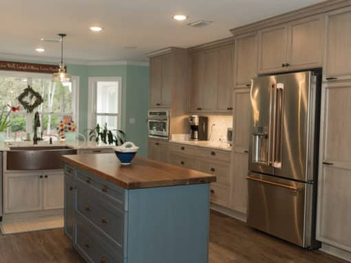 Lafayette Oaks Kitchen Expansion and Master Bath Remodel – $48,700