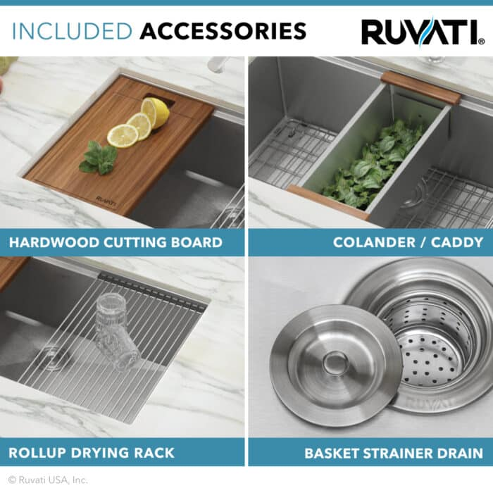 Kitchen sink - Ruvati workstation
