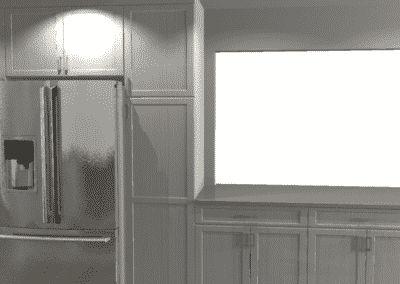 Fridge Wall Design
