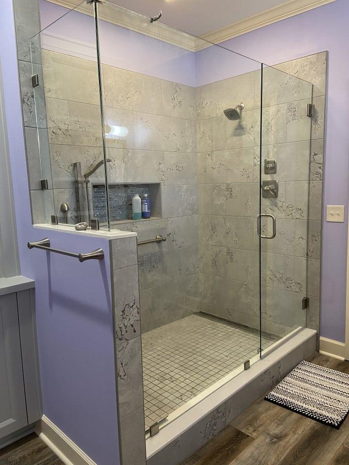 Huge Tile Showered