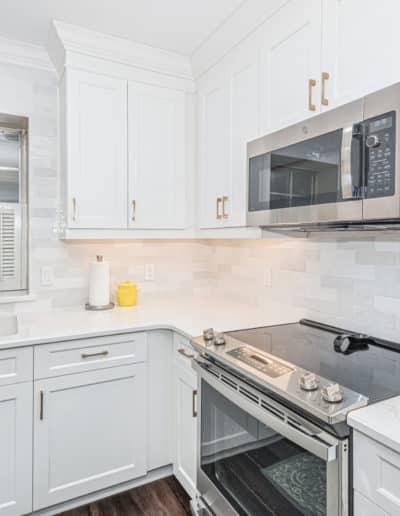 Sink and Range kitchen update after