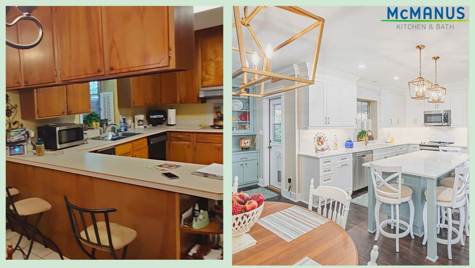 Kitchen Update Before After
