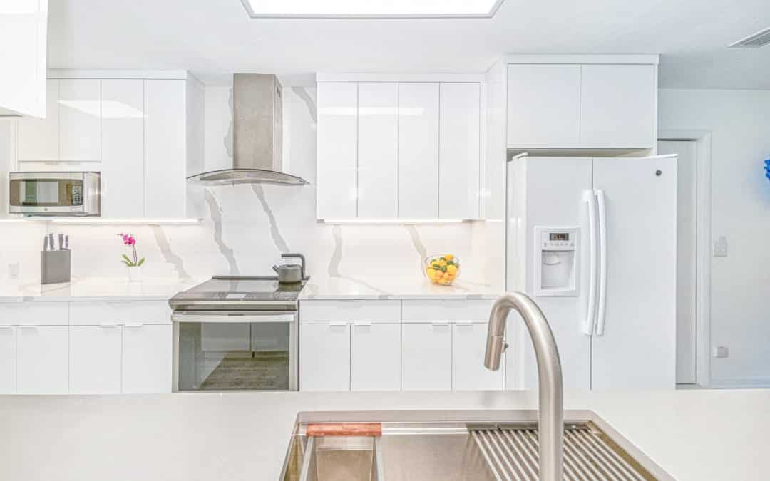 Bright White Kitchen Remodel in Lafayette Oaks, Tallahassee — $63,193