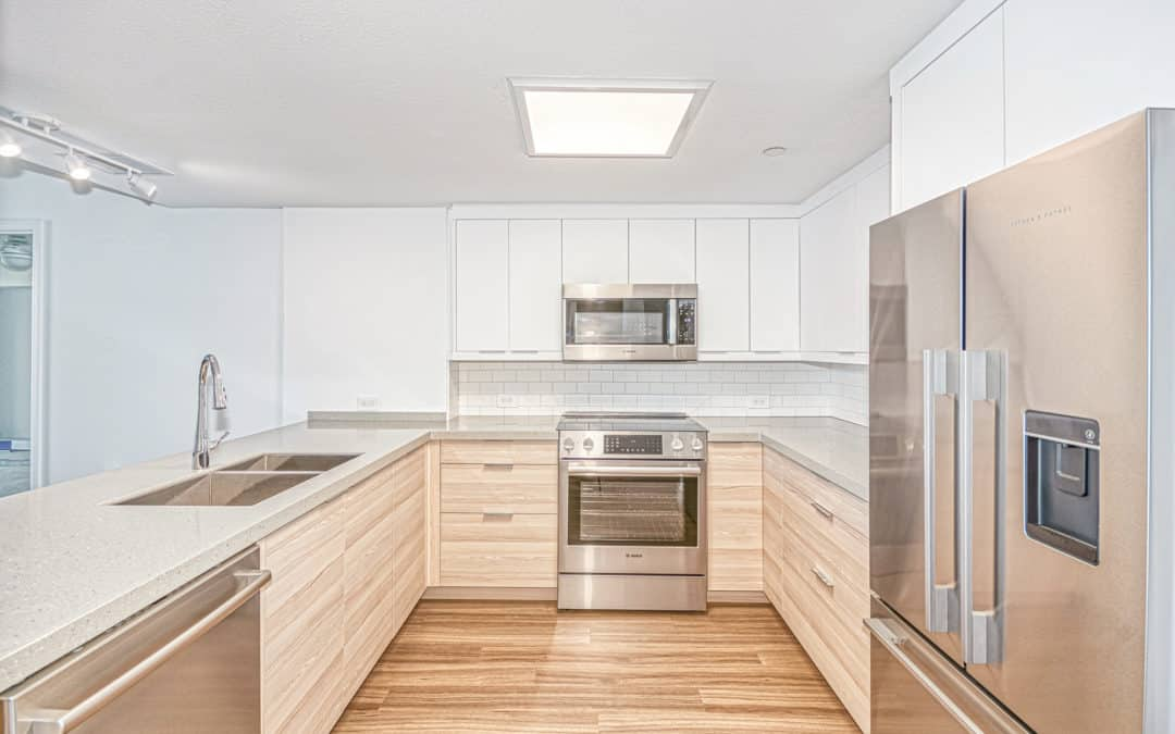 Kitchen and Bath Update at Plaza Towers — $103,831