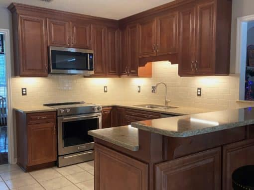 Traditional Kitchen Remodel in Crawfordville, FL — $47,217