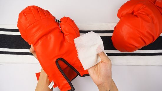 Keep your boxing gloves dry
