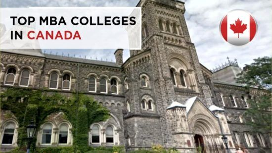 Top MBA Colleges in Canada