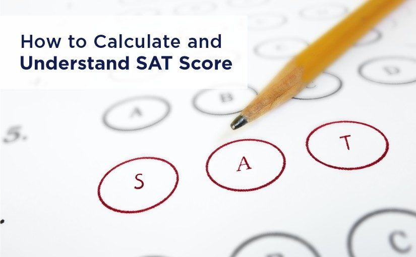 How to Calculate and Understand SAT Score