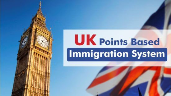 UK Points Based Immigration System