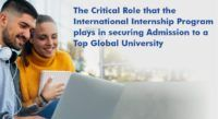 International Internship Program - Secure Admission to a Top Global University