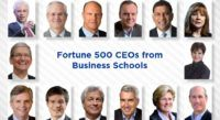 Fortune 500 CEOs from Business Schools