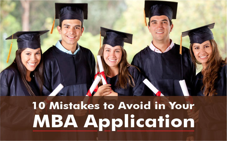 Mistakes to Avoid in MBA Applications