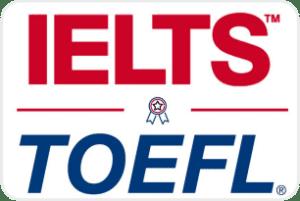 Take IELTS or TOEFL