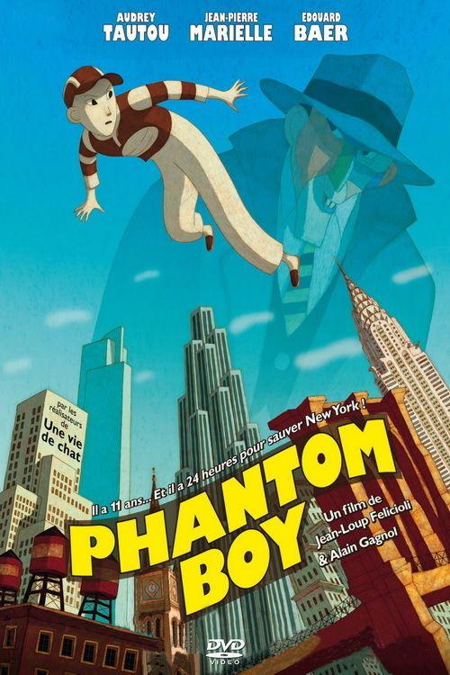 "Poster for the movie ""Phantom Boy"""