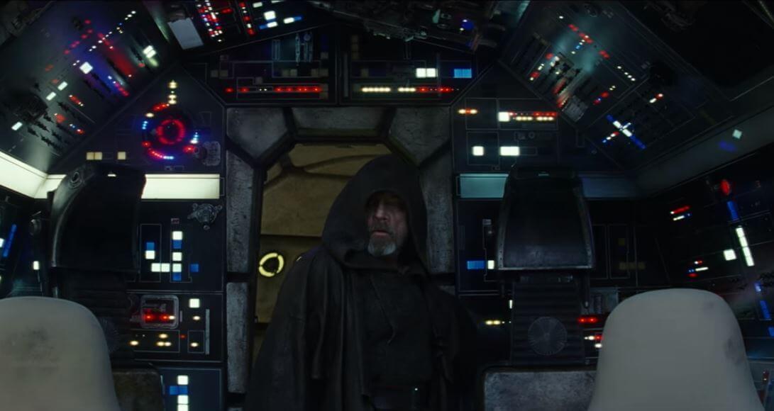Quando Luke Skywalker retorna à Millennium Falcon em novo teaser
