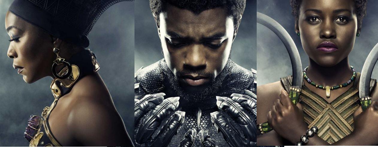 Pantera Negra confira os cartazes dos principais personagens do filme