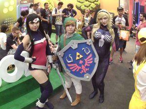 cosplays da CCXP 2017