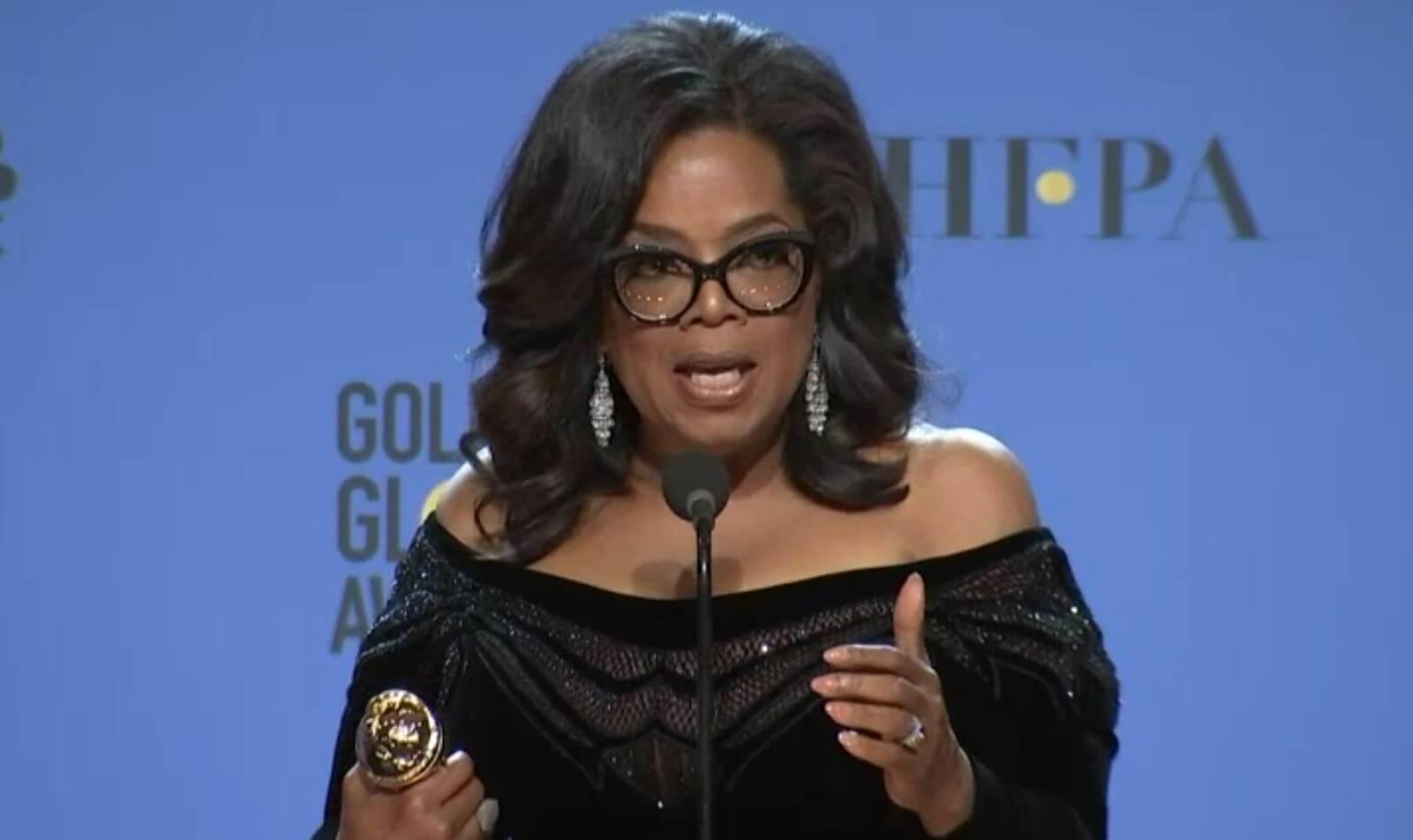 Oprah Winfrey - Globo de Ouro 2018
