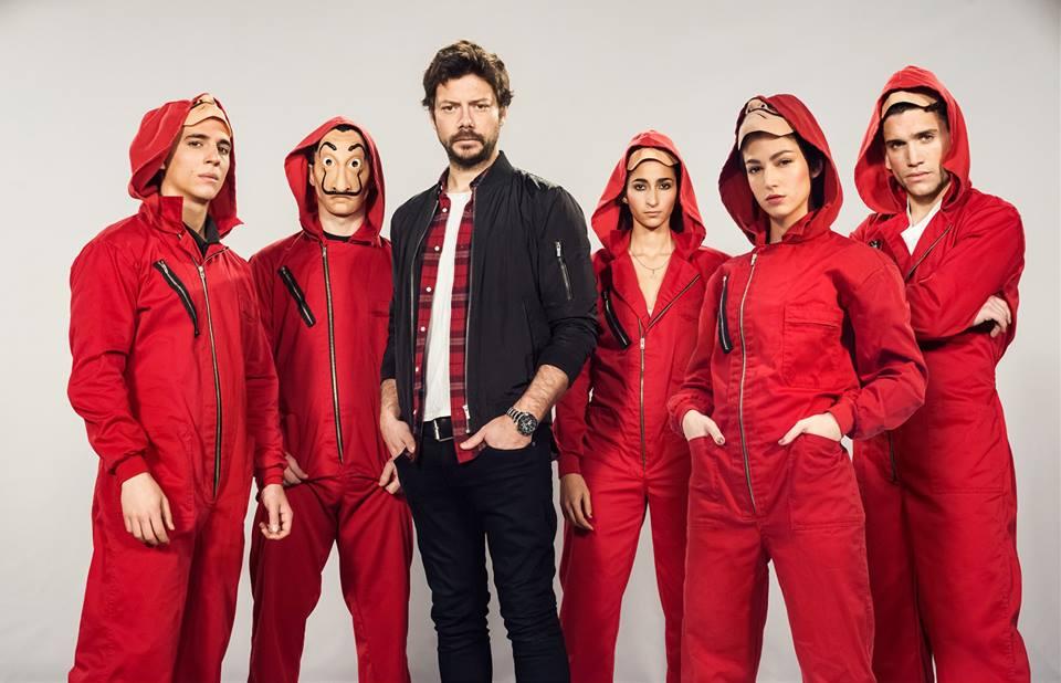 "Foi confirmada a terceira temporada de ""La Casa de Papel"""