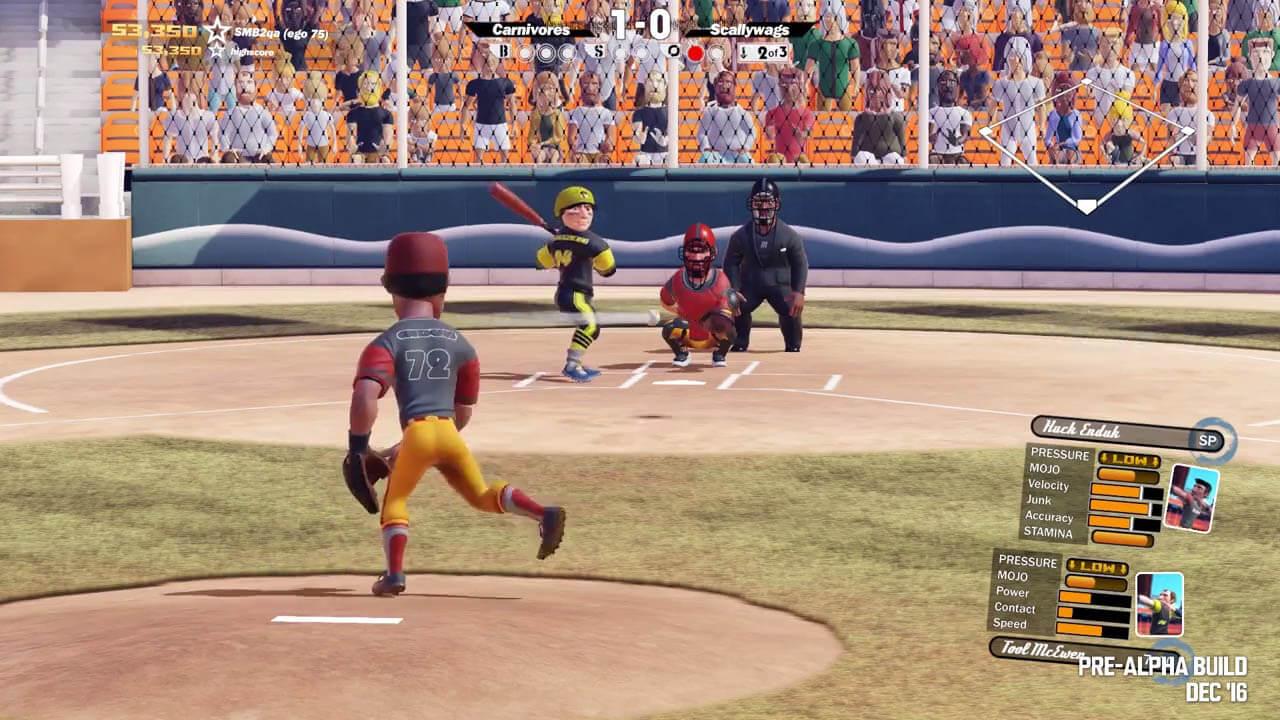 Super Mega Baseball 2 (Xbox One, download disponível a partir de 1 de maio)