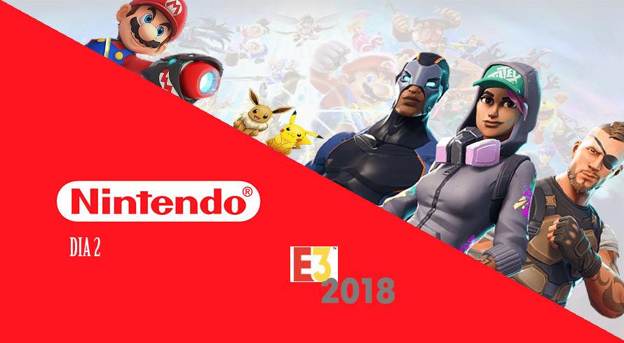 Acompanhe o segundo dia da Nintendo Direct na E3 2018