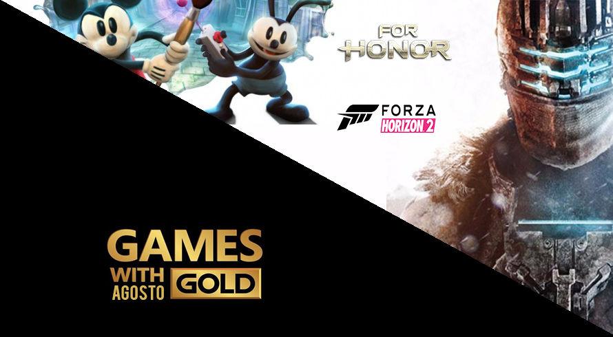 Xbox Games With Gold de agosto é anunciada, confira