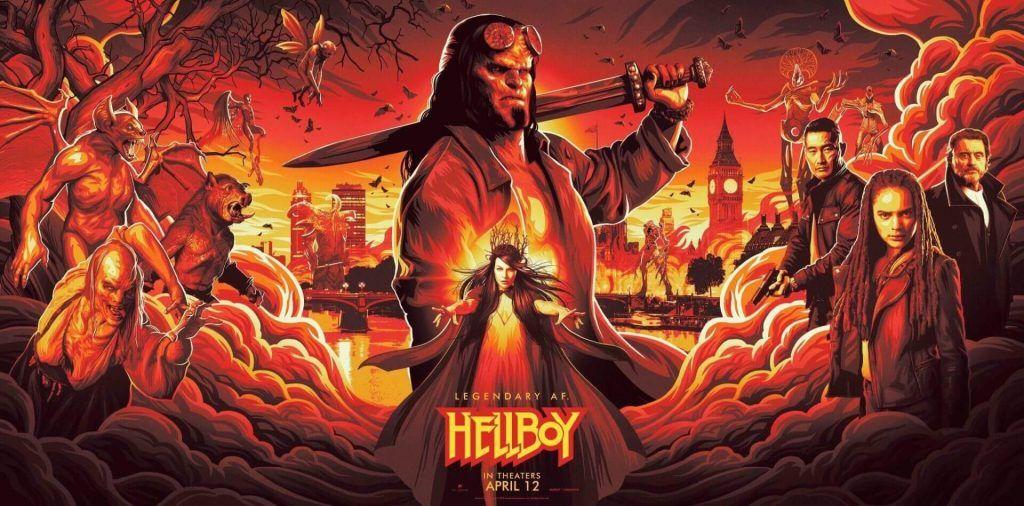 Pôster de Hellboy 2019