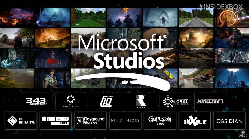Microsoft Studios 2018