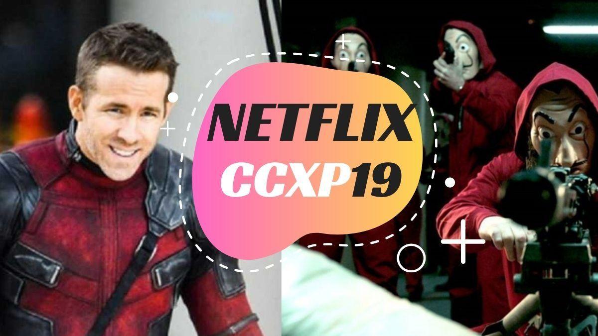 """Ryan Reynolds e elenco de """"La Casa de Papel"""" estão confirmados na CCXP19"""
