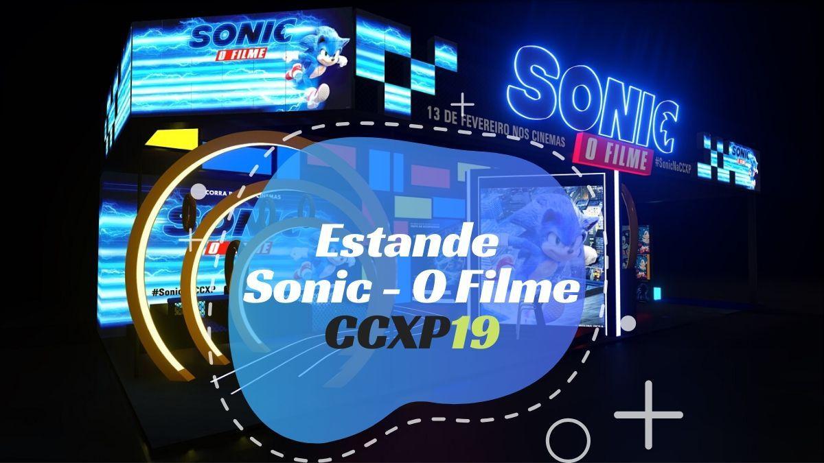 """CCXP19: Paramount levará estande conceito de """"Sonic - O Filme"""""""