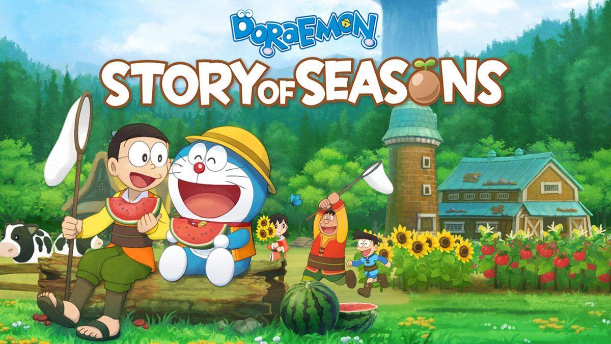 Doraemon: Story of Seasons chega ao Playstation em Setembro