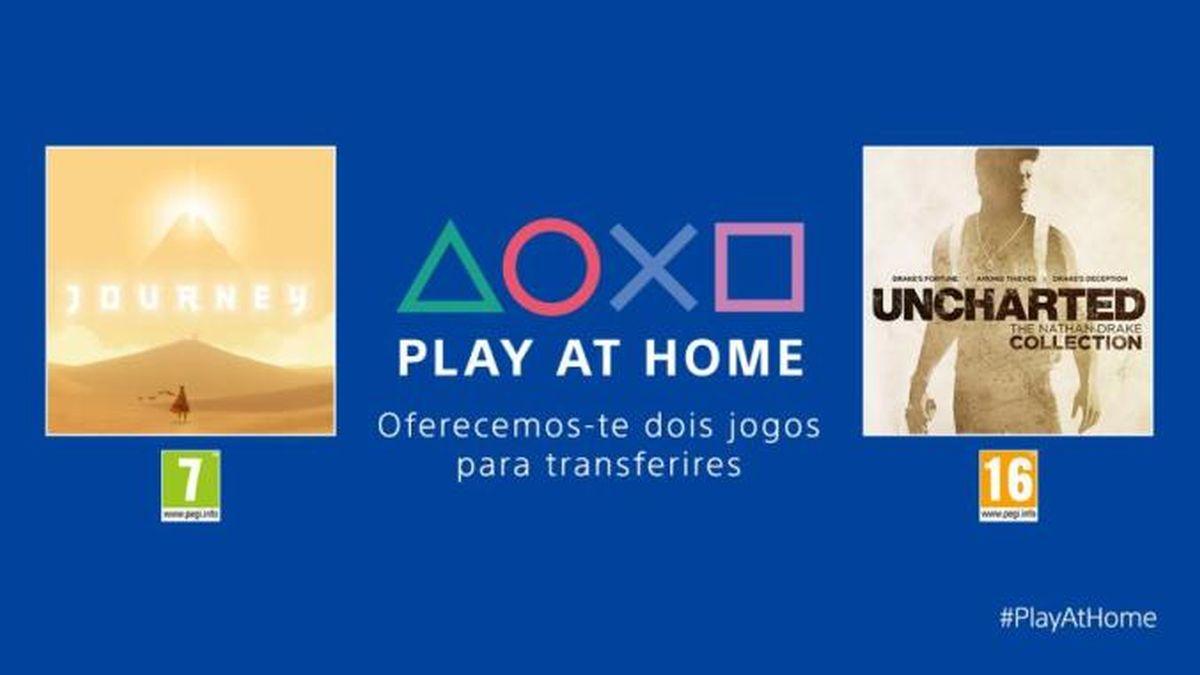 Sony libera 2 jogos de PS4 em iniciativa 'Play at Home'