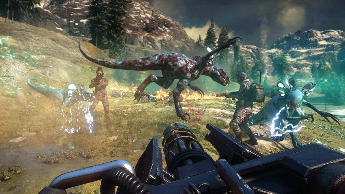 InsideXbox: Second Extinction jogo cooperativo de 3 jogadores para o Xbox Series X