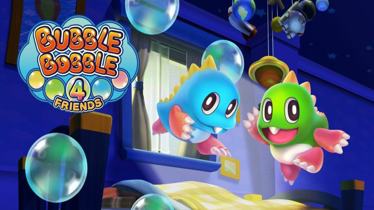 Bubble Bobble 4 Friends será lançado em Novembro no PS4