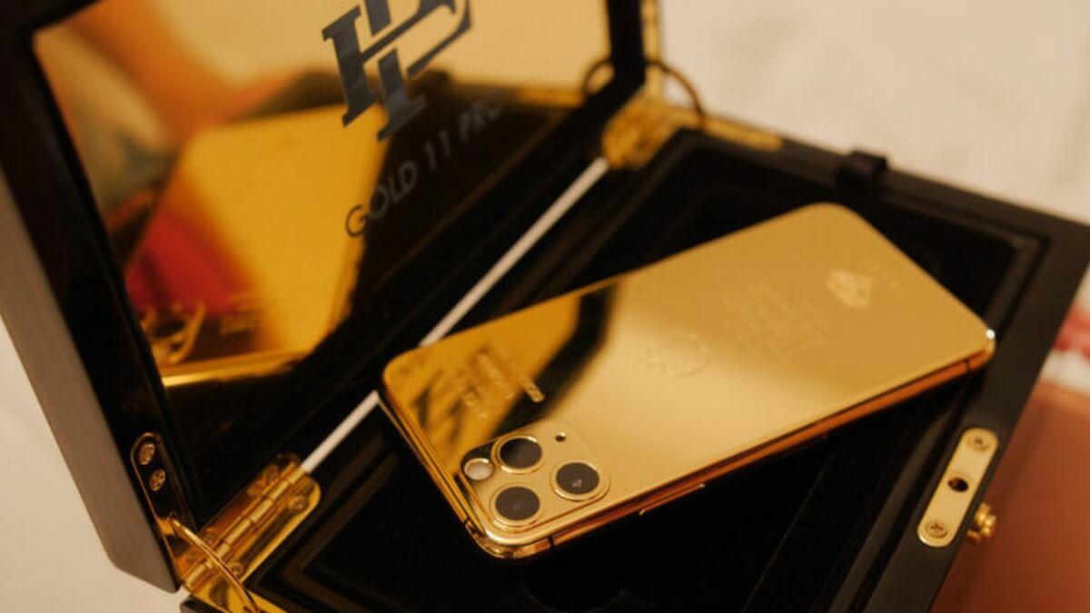 Iphone 11 banhado a ouro é vendido por irmão de Pablo Escobar