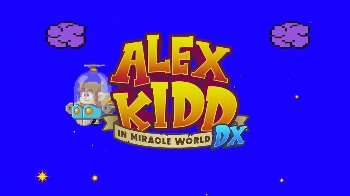 Alex Kidd Miracle World DX chega aos consoles e PCs em 2021