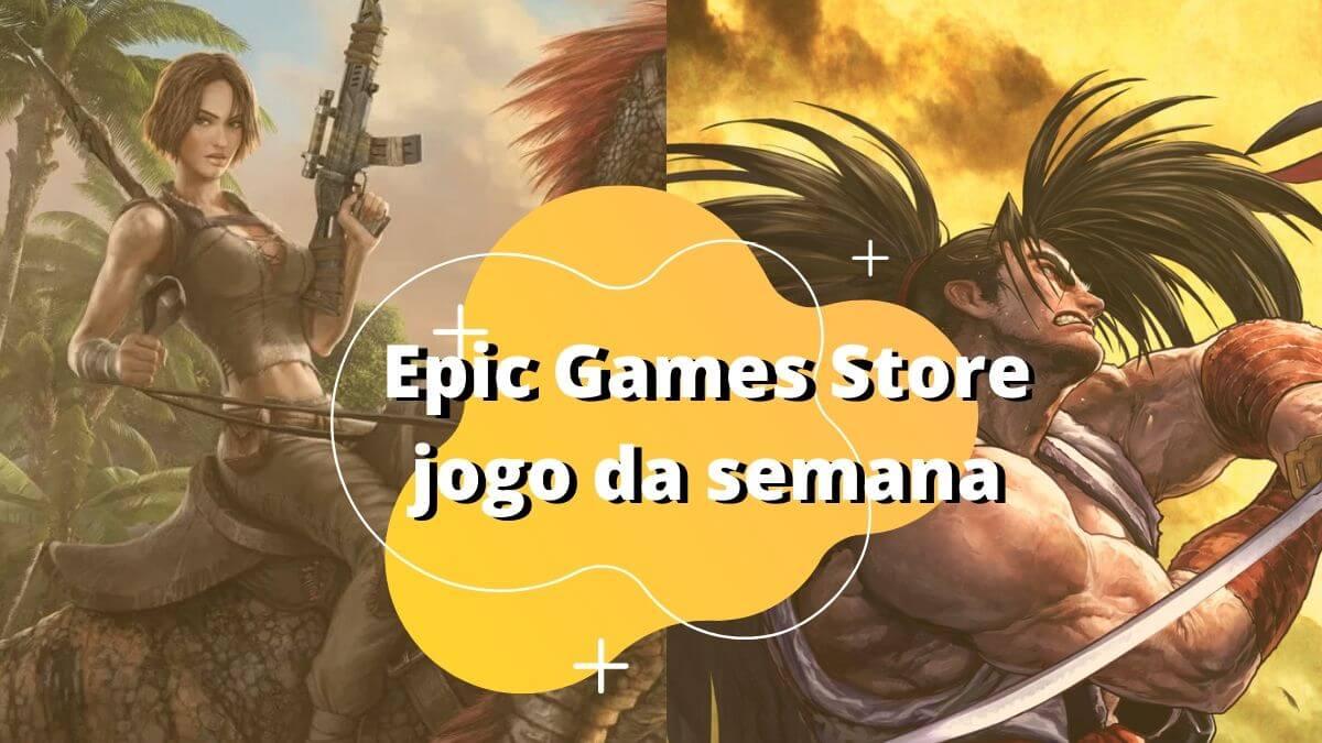 """""""ARK: Survival Evolved"""" e Samurai Shodown NEOGEO estão gratuitos na Epic Games"""