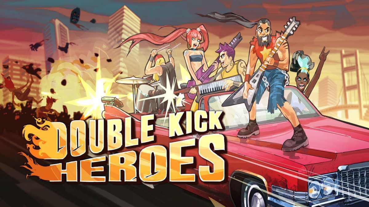 'Double Kick Heroes' chegará ao Nintendo Switch em agosto