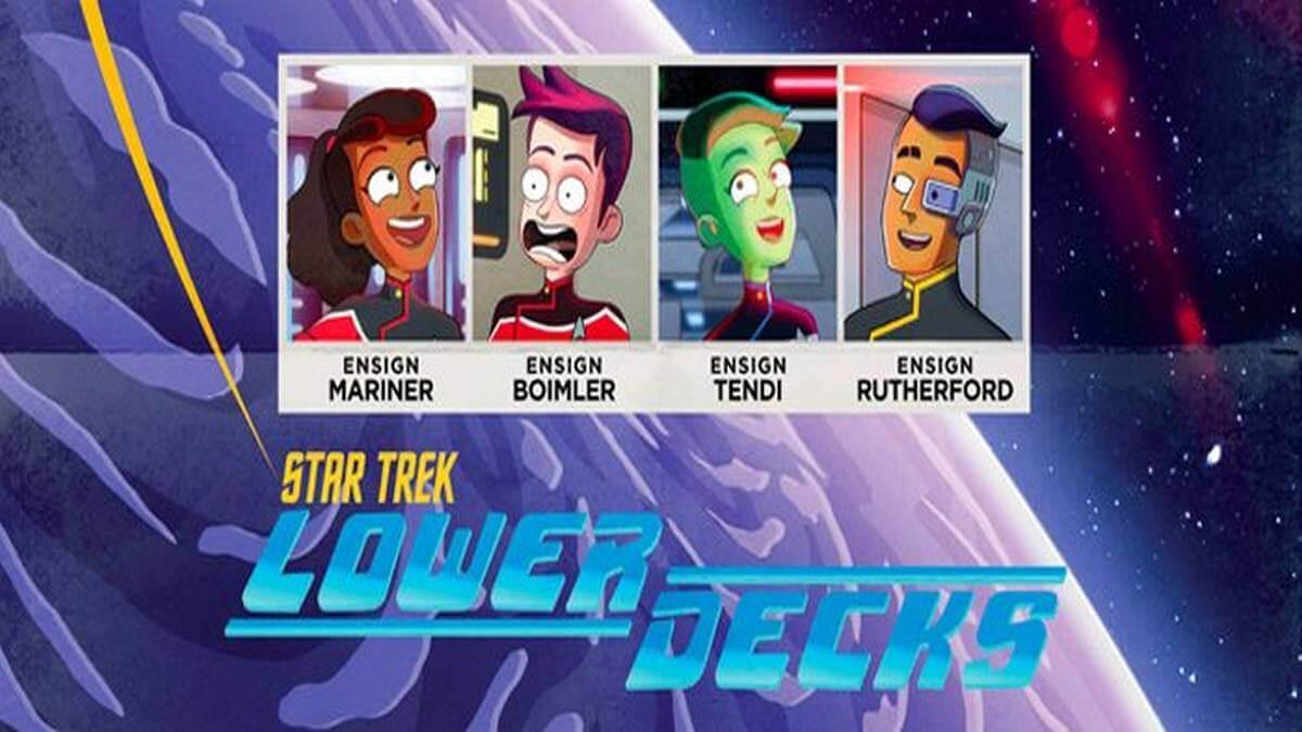 """Comic-Con @Home: Série animada """"Star Trek: Lower Decks"""" tem cena inicial exibida,confira."""