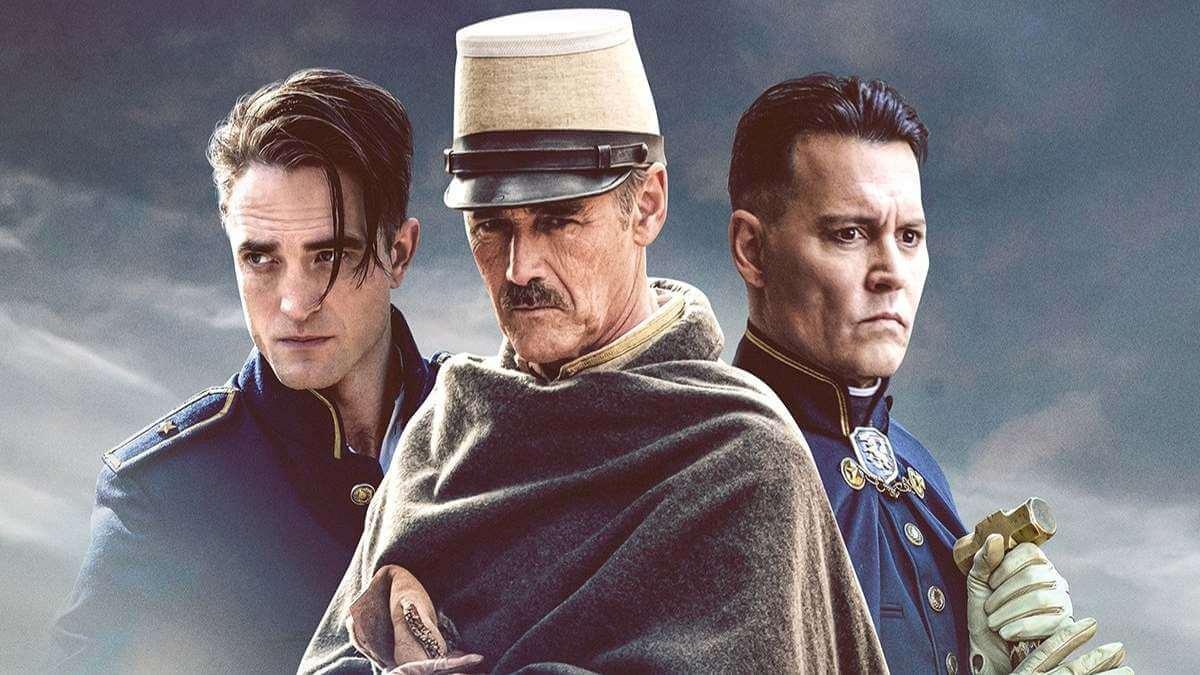 À Espera dos Bárbaros': Johnny Depp e Robert Pattinson estrelam poster e trailer
