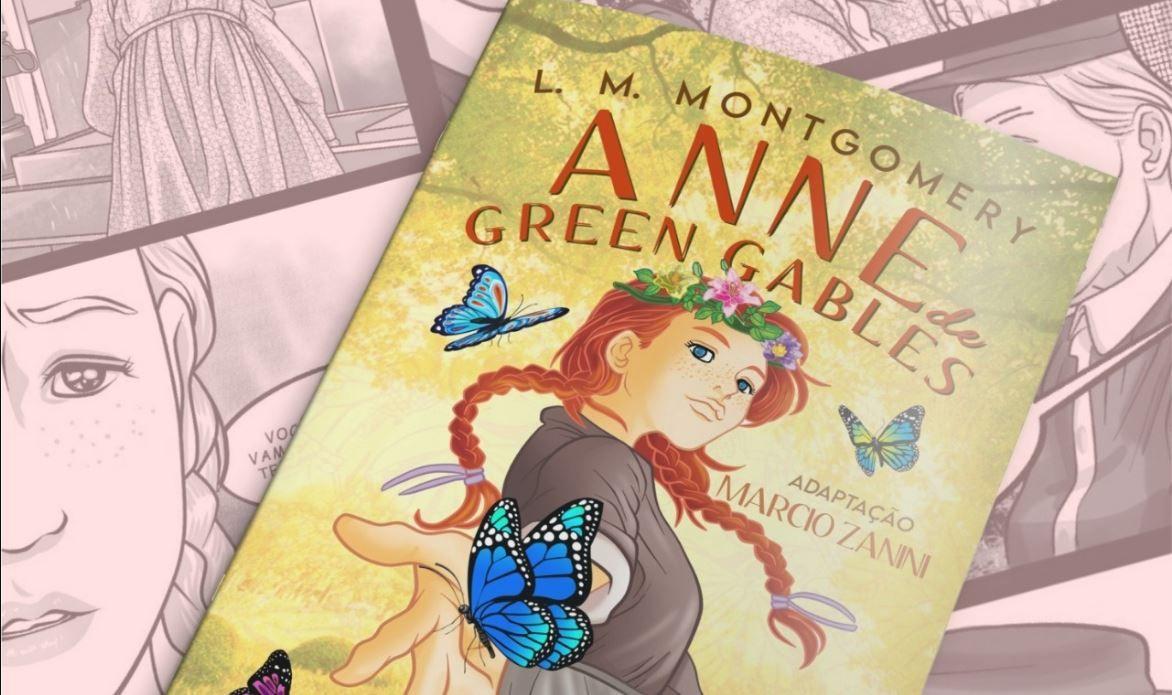 Adaptação da Hqs de Anne With An 'E' já está disponível no Brasil