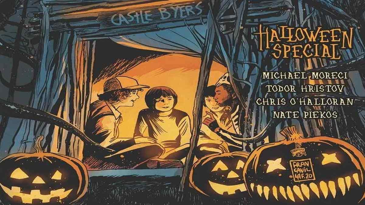 Dark Horse revela 'Stranger Things One-Shot' especial de Halloween