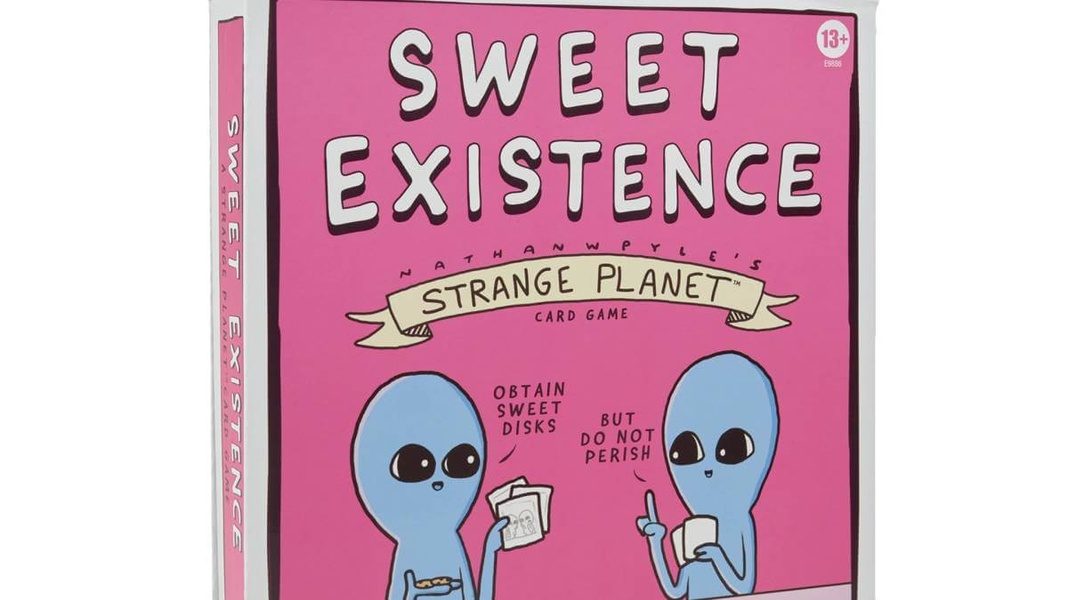 Hasbro & Strange Planet lançam em breve novo jogo de cartas 'Sweet Existence'