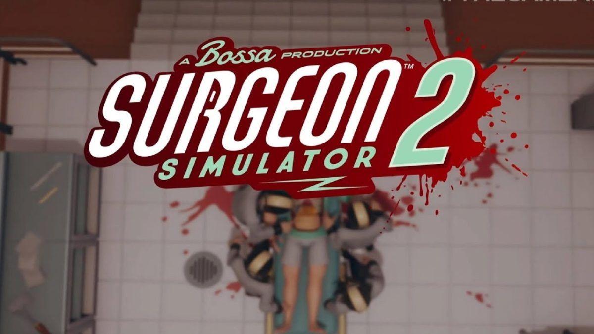 Doc Brown anunciou o lançamento surpresa de Surgeon Simulator 2 durante as Gamescom