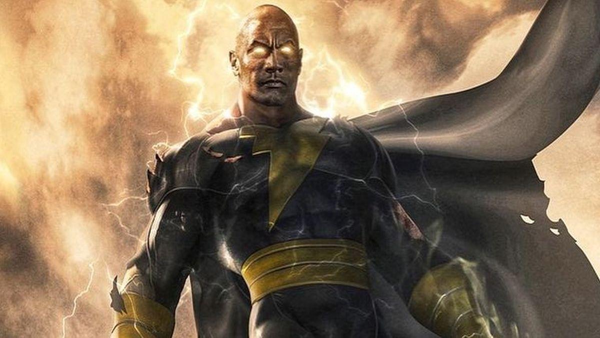 Logotipo do filme Adão Negro revelado na DC FanDome