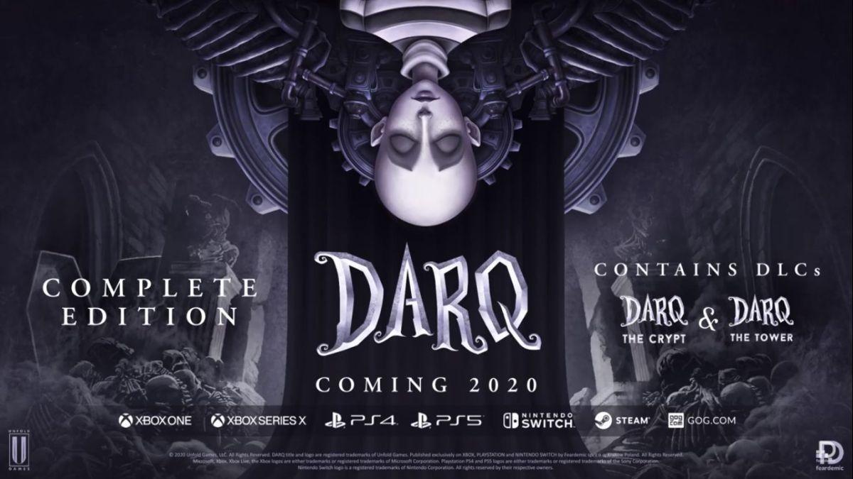 DARQ: Complete Edition deve chegar ao PS4/PS5 ainda este ano