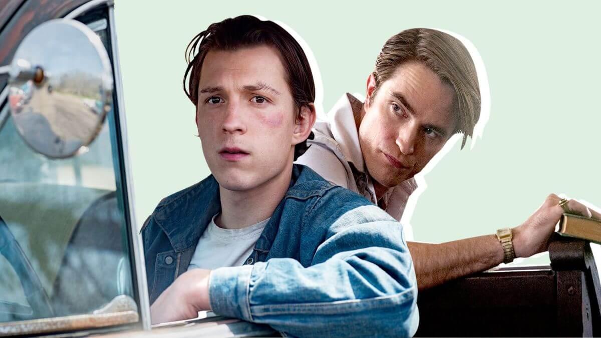 O diabo de cada dia: Poster do filme da Netflix com Tom Holland e Robert Pattinson é divulgado