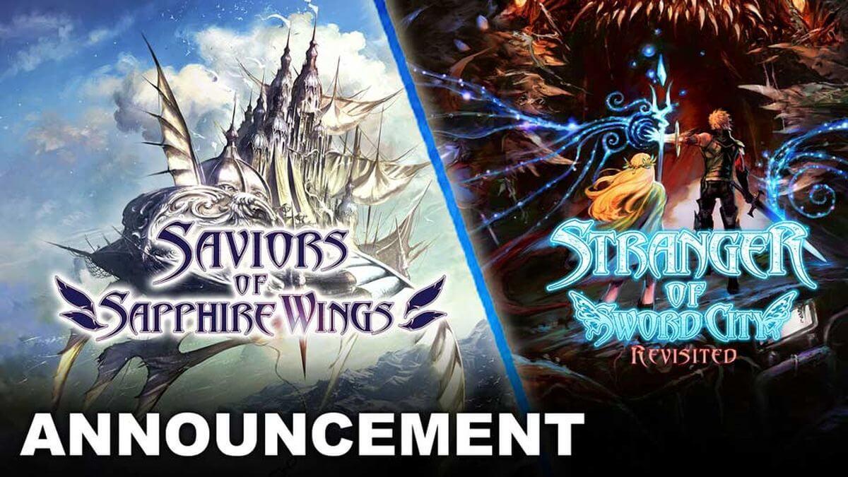 Saviors of Sapphire Wings / Stranger of Sword City Revisited será lançado para Nintendo Switch