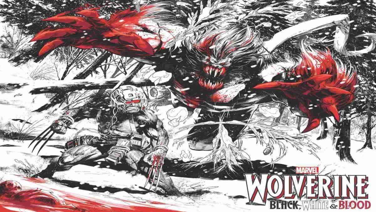 Marvel Anuncia Wolverine: Black, White, & Blood nos quadrinhos